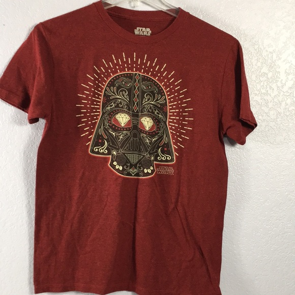 Star Wars Darth Vader red graphic T-shirt size M